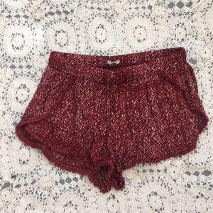 UO ecote shorts